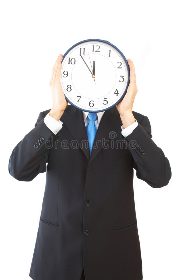 Sforzo di tempo immagine stock libera da diritti