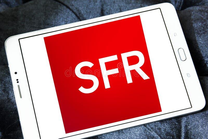 SFR telekomunikacj firmy logo zdjęcie stock
