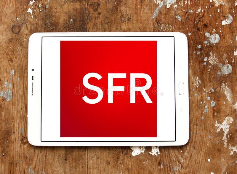 SFR telekomunikacj firmy logo obrazy stock