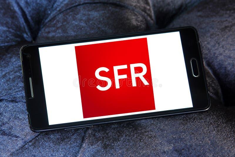 SFR telekomunikacj firmy logo zdjęcie royalty free