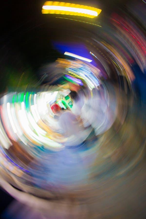 Sfuocatura del fondo alla notte fotografie stock