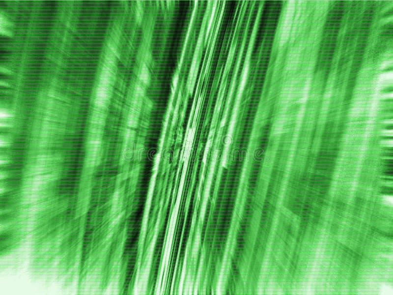 Sfuocatura dello zoom di verde della tabella 3d illustrazione di stock