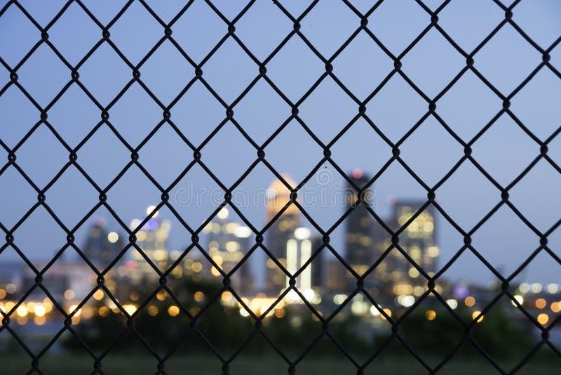 Sfuocatura di Louisville immagine stock libera da diritti