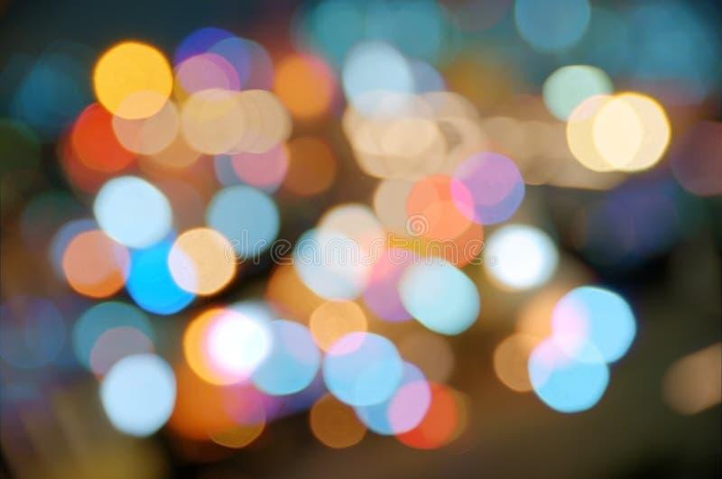 Sfuocature di colore fotografie stock libere da diritti