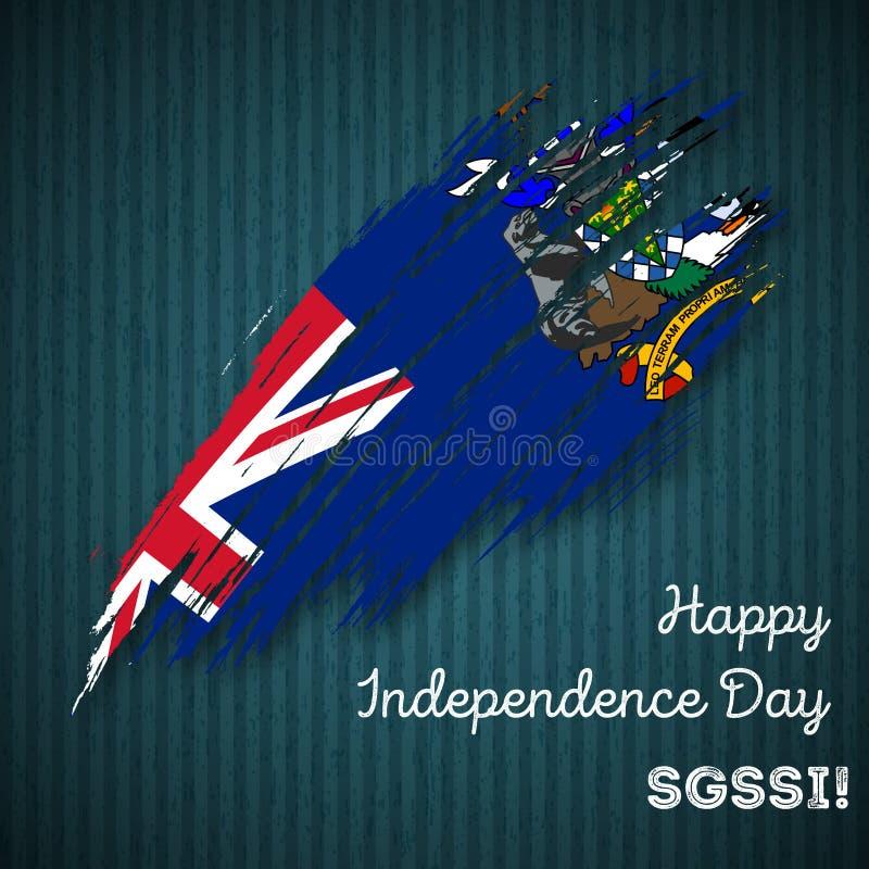 SGSSI dnia niepodległości Patriotyczny projekt ilustracja wektor