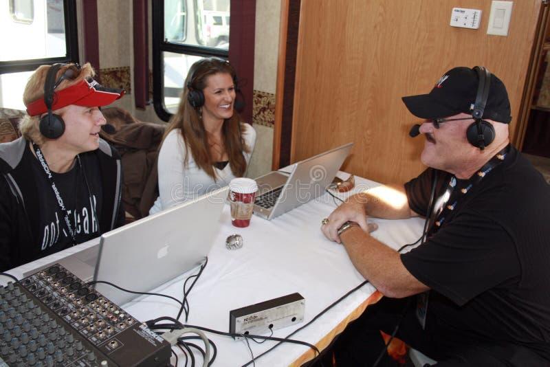 Sgt. de radioverschijning van de Slachting WWE stock foto