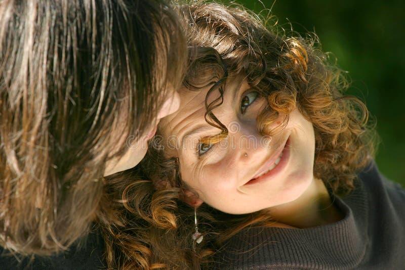 Download Sguardo in su fotografia stock. Immagine di ritratto, femmina - 220720
