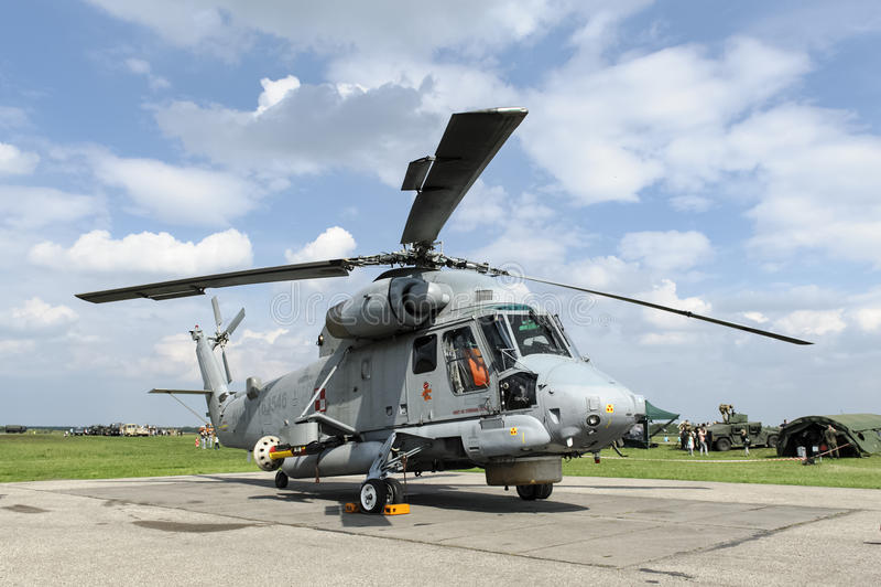 SH-2G Super Seasprite Polish Navy stock photo