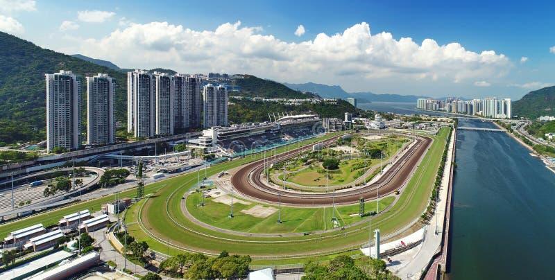 Sha Tin Racecourse imagens de stock royalty free