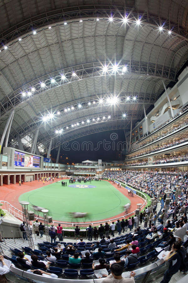 Download Sha Tin Racecourse, Hong Kong Editorial Stock Photo - Image: 19164378