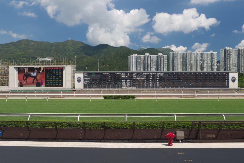 Sha Zinn-Rennstrecke, Hong Kong lizenzfreie stockfotografie