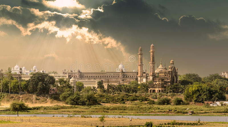 Shaan-E-Awadh (Lucknow). View of old Lucknow. Lucknow is the capital city of the state of Uttar Pradesh, India. Lucknow was one of the major centres of the royalty free stock images