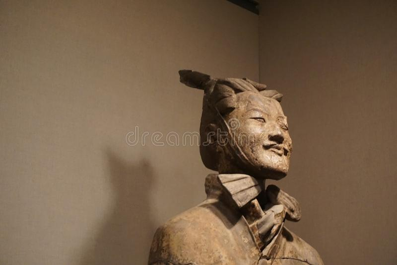 Shaanxi History Museum Terrocotta Soldier stock images