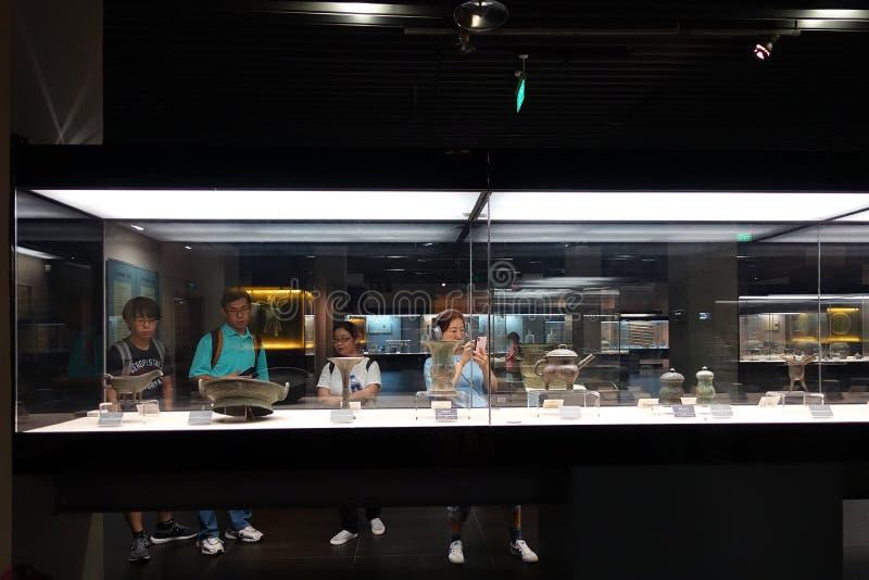 Shaanximuseum van Geschiedenis royalty-vrije stock afbeelding