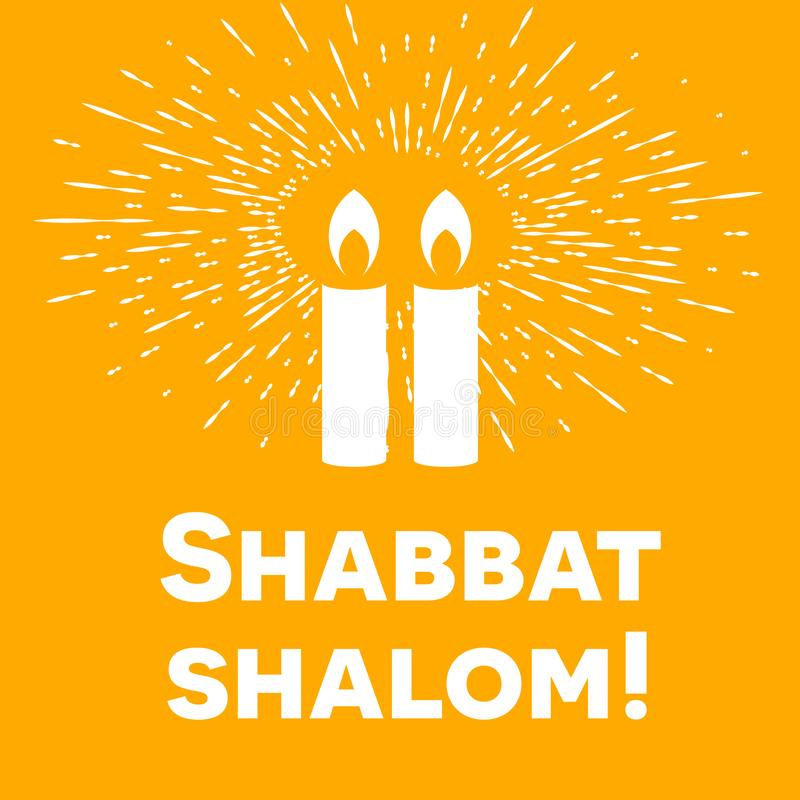 Shabbat shalom candles greeting card lettering retro rays of light download shabbat shalom candles greeting card lettering retro rays of light stock vector m4hsunfo
