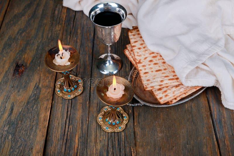 Shabbat Shalom - ritual judío tradicional del Sabat foto de archivo libre de regalías