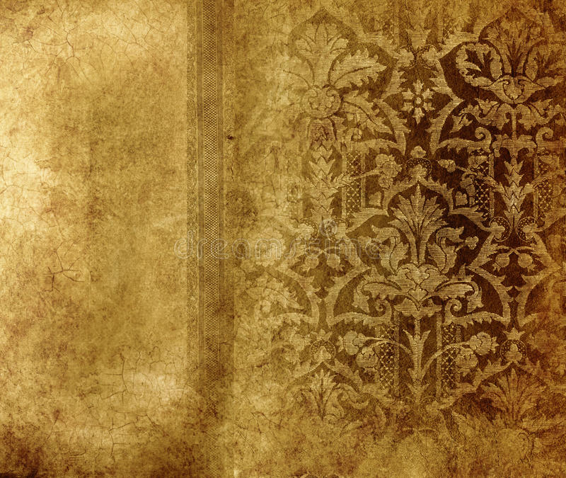 shabby background with classy patterns vector illustration