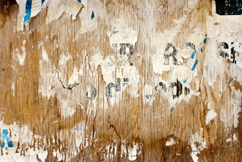 Download Shabby billboard stock image. Image of decay, graphic - 9829821