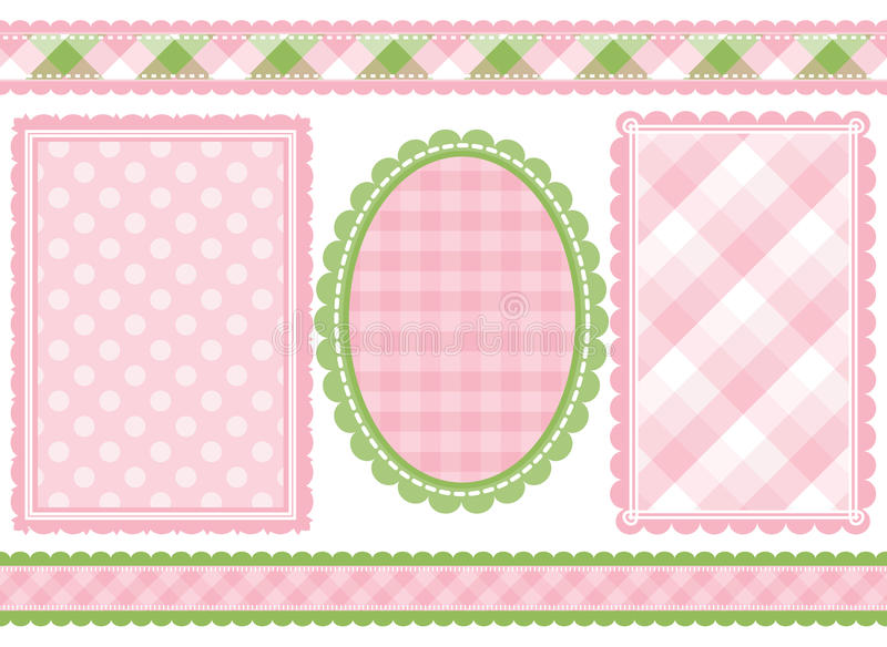 Download Shabby chic stock vector. Image of frame, curve, decorative - 10729660