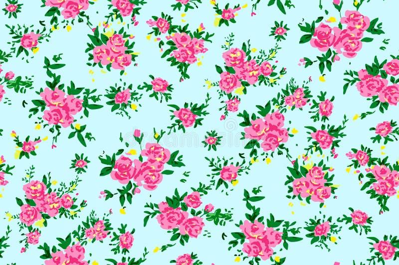 Shabby chic rose background royalty free illustration