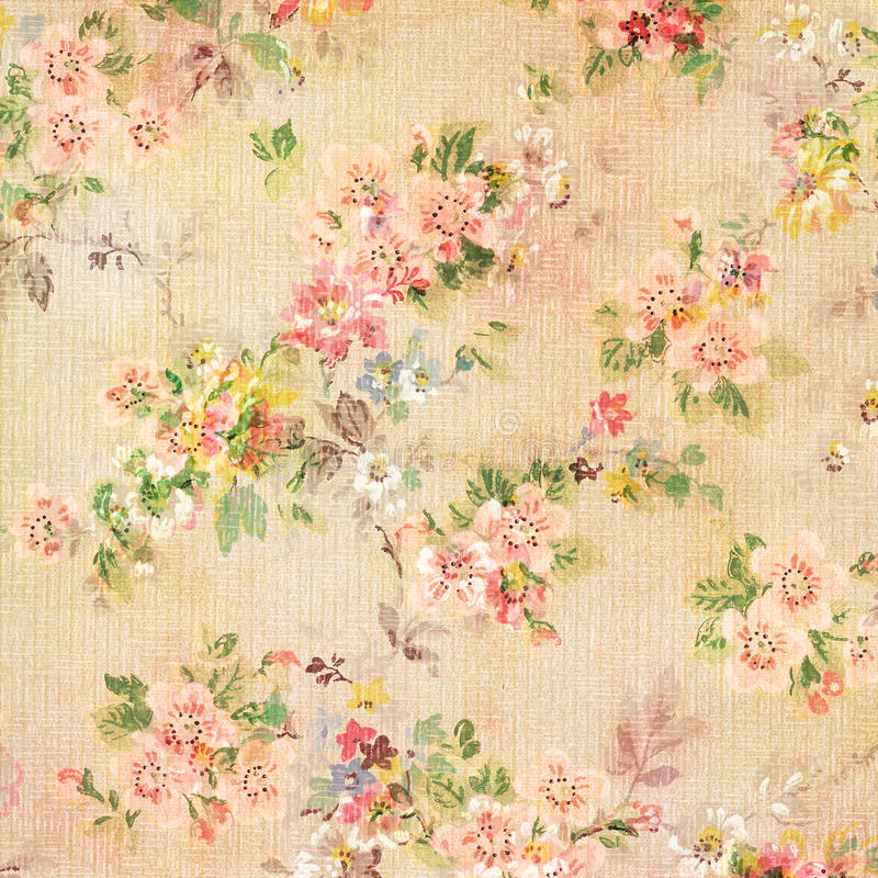 shabby chic vintage antique rose floral wallpaper stock photo image of wallpaper colored. Black Bedroom Furniture Sets. Home Design Ideas