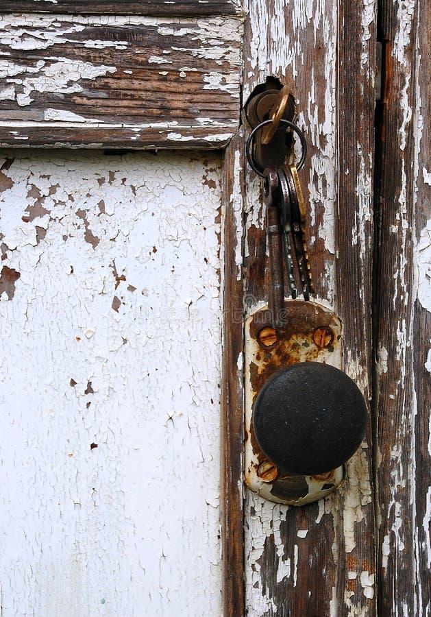 Shabby Door Royalty Free Stock Photo