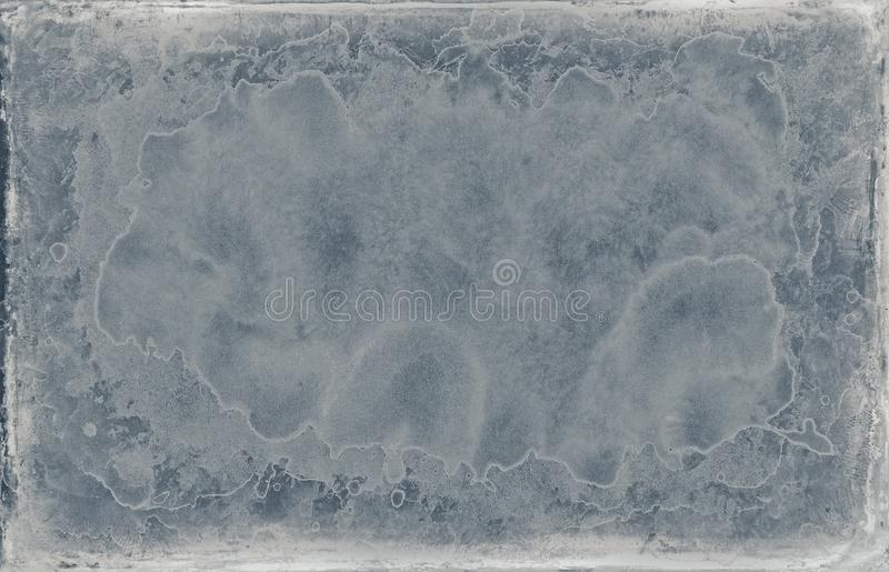 Shabby old blue grunge design frame texture. For your next project stock photo