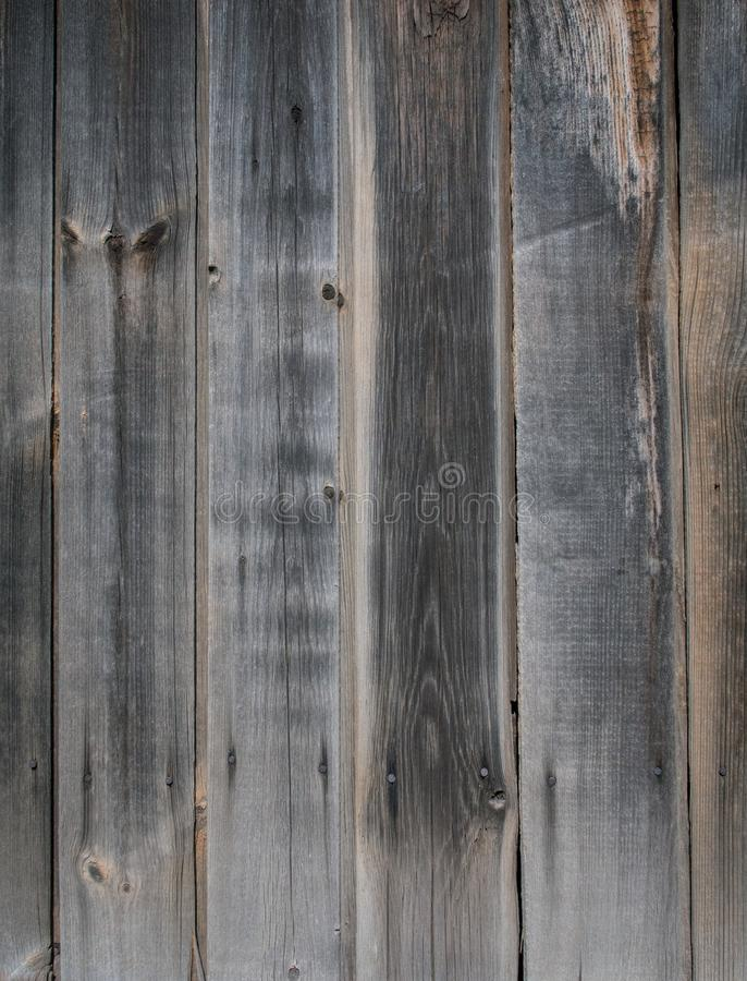 Shabby planks of old wood stock image