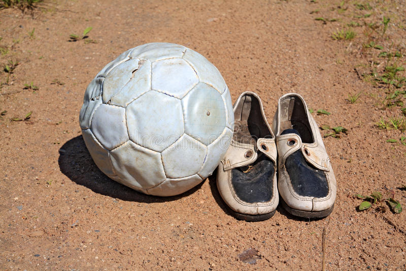 Download Shabby shoe stock image. Image of determination, competition - 25564667