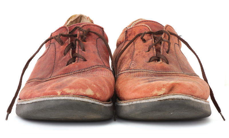 Download Shabby Shoes stock photo. Image of weathered, scuffed - 16780800
