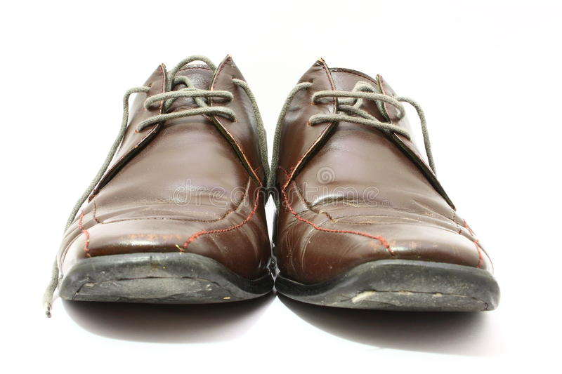 Shabby Shoes stock photography