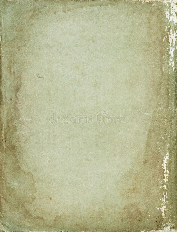 Shabby vintage retro paper background. Big size shabby vintage retro paper background with stained dark borders royalty free stock photo