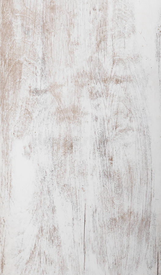 Shabby white background of natural wood stock photography