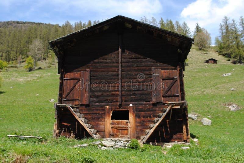 Shack, Hut, Log Cabin, House stock photos