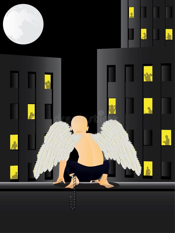 Shackled angel