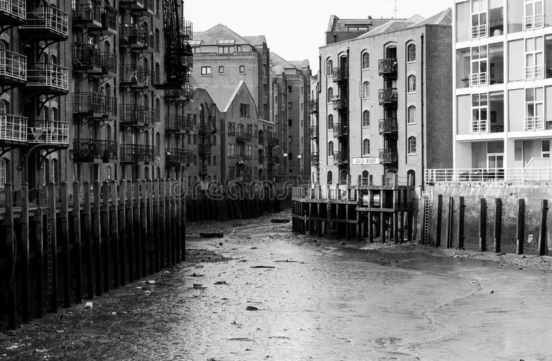 Shad Thames Area stock foto
