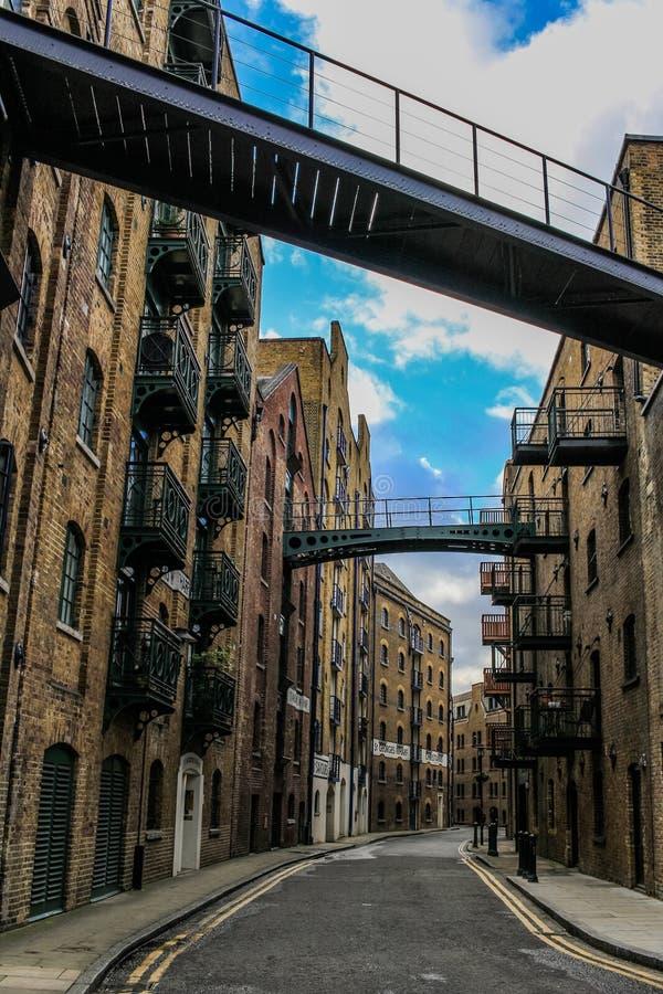 Shad Thames, Londres fotos de archivo libres de regalías