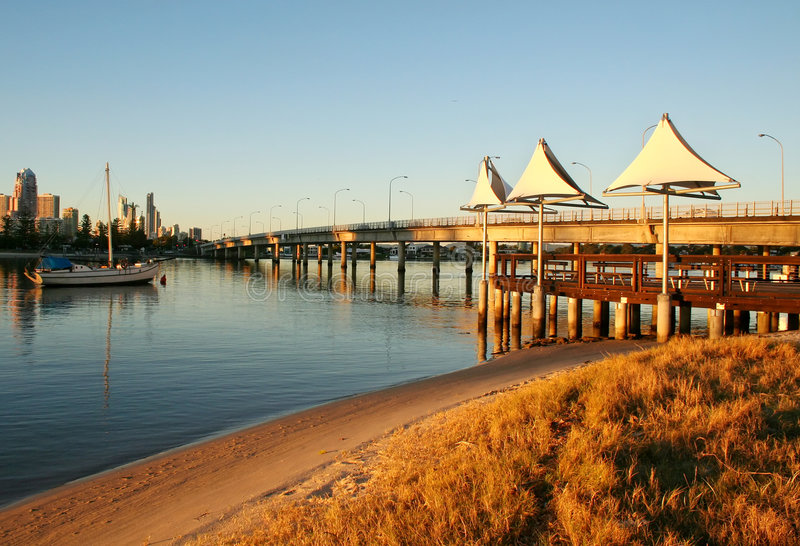 Download Shade Sails At Southport Stock Image - Image: 6715701