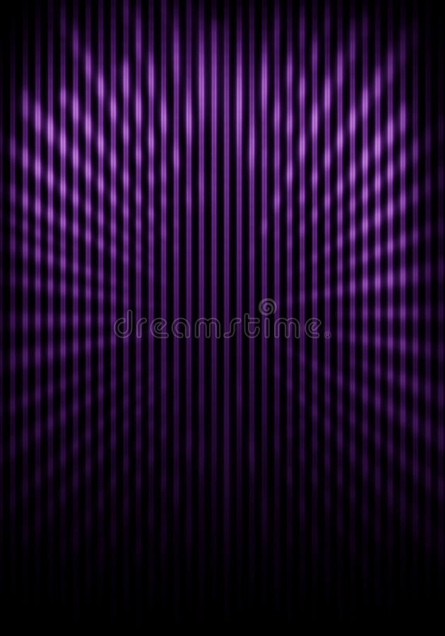 Shaded wall with grill painting and light rays royalty free stock image