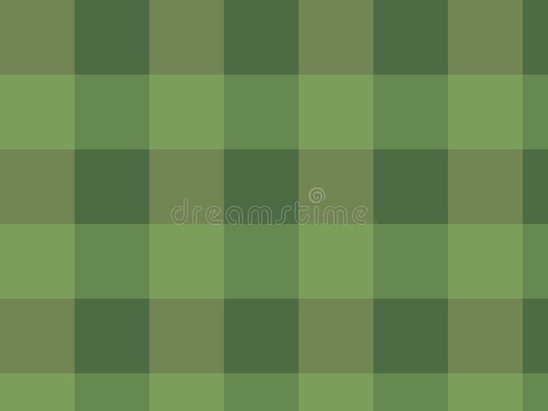Shades of green stock image