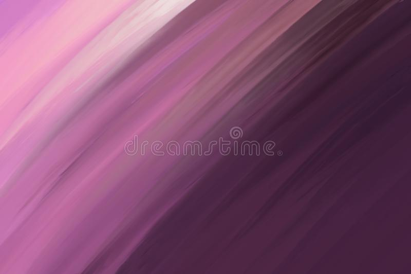 Shades of purple, abstract slanted motion effect blurred background. Blurry abstract design. Pattern can be used as a background. Or for cards, invitations and royalty free illustration