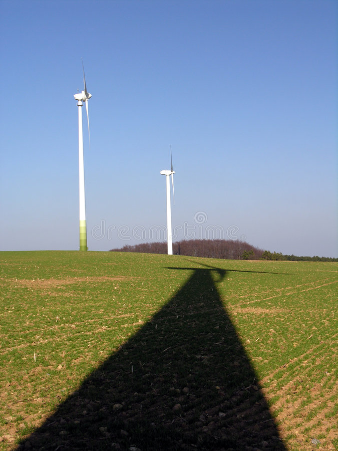 Download Shadow stock photo. Image of energy, environment, rotor - 100968