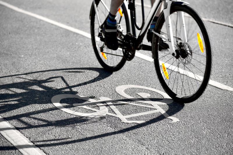 Download Shadow of bike stock image. Image of city, active, blur - 26641919