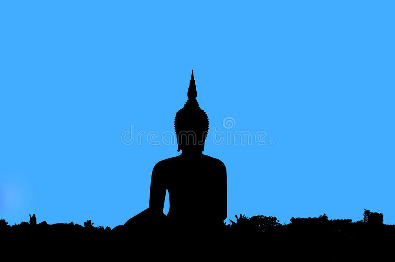 Download Shadow of Buddha stock photo. Image of calm, religious - 23809870