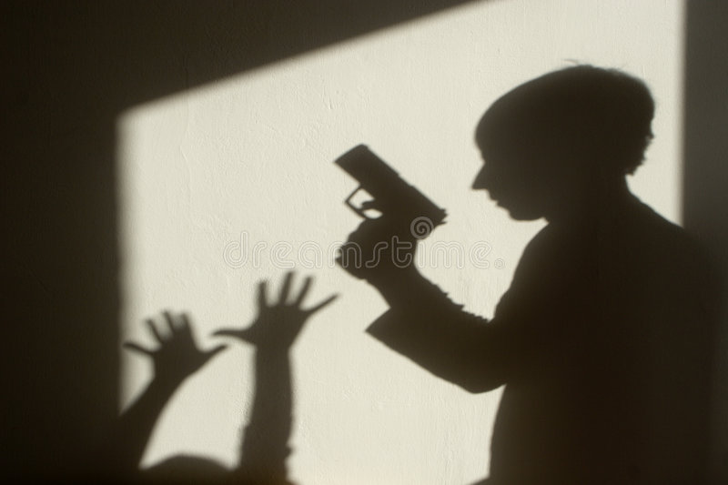 Download Shadow of crime stock image. Image of fear, shadow, gang - 8139497