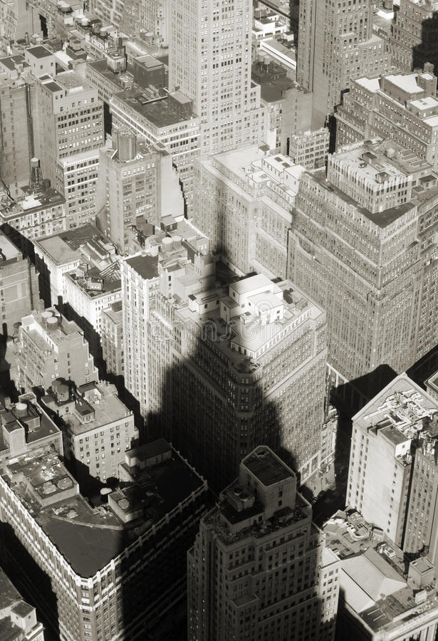 Download Shadow Of Empire State Building Stock Image - Image: 11629941