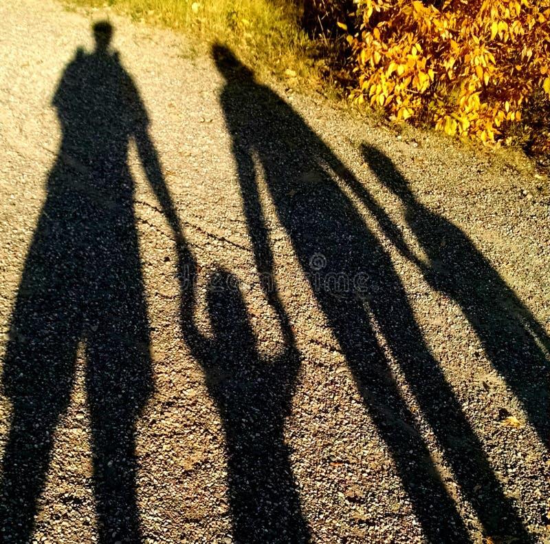 Shadow Family royalty free stock photo