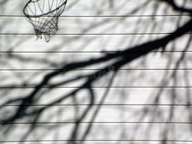 Shadow Hoop stock photo