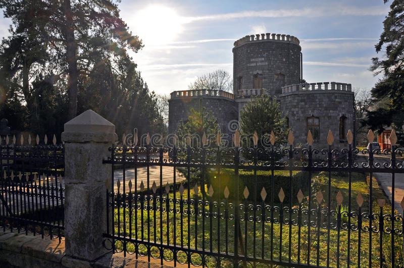Download Shadow Past Over Historic Castle Stock Image - Image: 17401131
