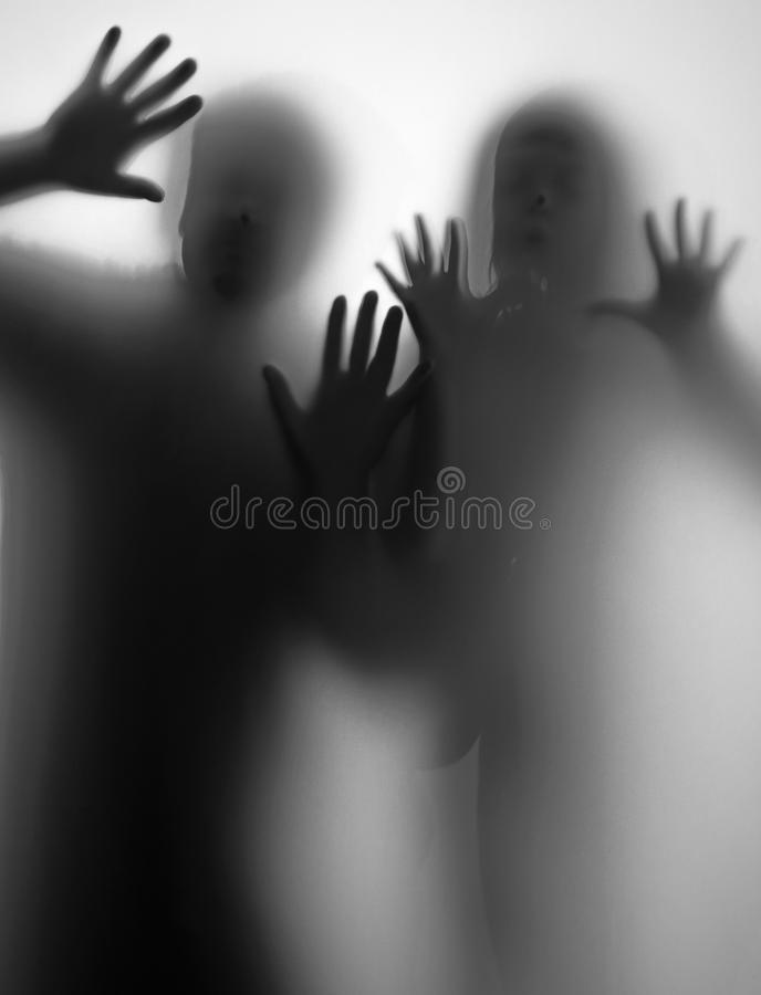 Shadow of people royalty free stock photo